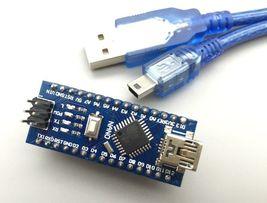 Nano 3.0 ATMEGA 328P-AU Chip Controller Compatible for Arduino CH340 USB... - $7.50