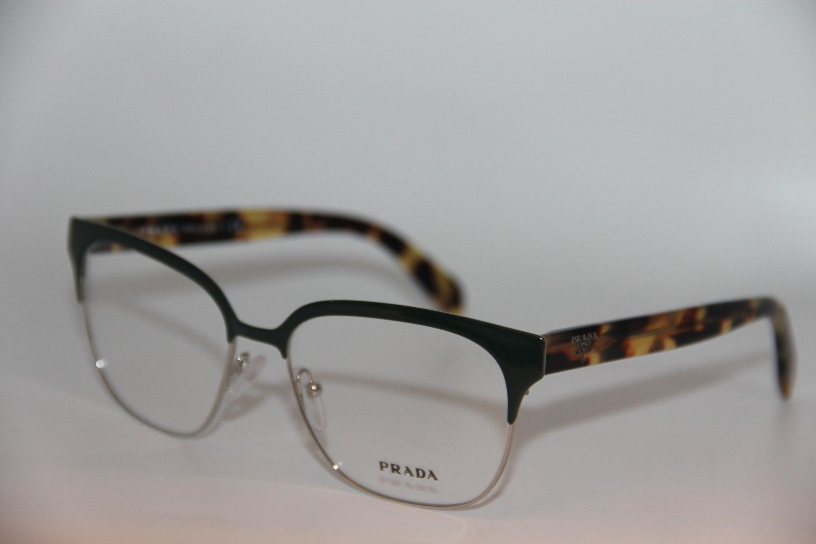 043816d0a4b New Prada Vpr 54S UEZ-1O1 Green Eyeglasses and 50 similar items. 57