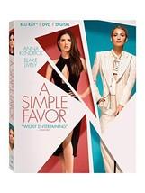 A Simple Favor [Blu-ray + DVD + Digital]