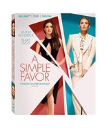 A Simple Favor [Blu-ray + DVD + Digital]  - $14.95