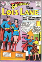 Superman's Girlfriend Lois Lane Comic Book #36 DC Comics 1962 FINE - $26.01