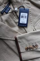 NWT Ralph Lauren Blue Label Designer Cotton Tan Blazer Tailored Jacket 6 $398 - $229.00