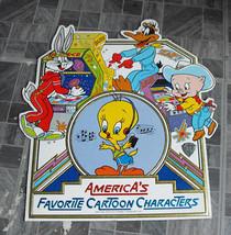 Looney Tunes America's Favorite Cartoon Characters Store Display 1982 - $16.99