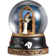 Phantom and Christine Mirror Scene Water Globe by The San Francisco Musi... - $76.72