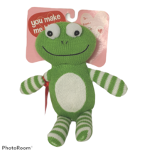 "Target Valentines Galerie Frog Candy To From Love Plush 2014 9.75"" - $15.84"