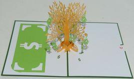 Lovepop LP1089 Money Tree Pop Up Card White Envelope Cellophane Wrapped Pkg 1 image 3