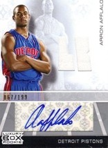 2007-08 Topps Luxury Box Rookie Relics Autograph #AA Arron Afflalo Jerse... - $5.50