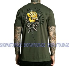 Sullen Jake Rose SCM3055 New Short Sleeve Graphic Tattoo Skull T-shirt F... - $33.27+