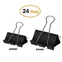 Extra Large Binder Clips, Jumbo Paper Clamps for Office Supplies, 2inch/... - £11.48 GBP