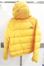 NWT The North Face Hyalite Down Hoodie Hoody Jacket Women Yellow Small image 4