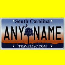 1/43-1/5 scale custom license plates any brand RC/model car - S Carolina... - $11.00