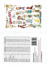 Whao Girl 1- Embroidery CD by Loralie Designs ~ 16 Designs - $37.39