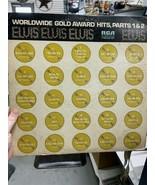 Worldwide Gold Award Hits Part 1&2 Elvis - $30.00