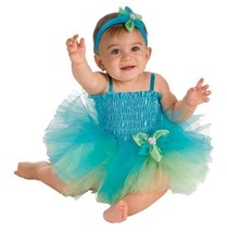 AdOrAbLe Baby Girl Ballerina Tutu Complete Costume Aqua or Purple 6-9M R... - $24.99