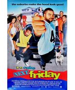 "2000 NEXT FRIDAY Movie POSTER 27x40""  Ice Cube Mike Epps Tiny Lister Amy... - $15.99"
