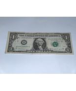 1988 un Dollar Bill Us Billete Fecha Cumpleaños Año 1913 9593 Fancy Seri... - $12.39