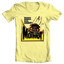 Mothra T-shirt retro sci fi  monster movie Godzilla 100% cotton graphic tee image 2