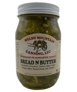 BREAD & BUTTER PICKLES Sweet Thin Slice Pickles 1-12 Pint Jar Amish Home... - $7.81+