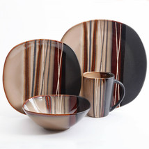 16 Piece Dinnerware Set Kitchen Dinner Serving Dishes Home Plates Kit St... - $57.00
