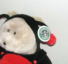 Starbucks 14 Inch Bearista Bear Collection LADYBUG image 2