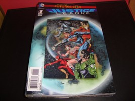 Justice League #1 Futures End Lenticular Cover (3D) DC Comic Book Near Mint - $2.24