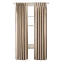 Liz Claiborne Kathryn Energy Saving Pinch-Pleat Single Curtain Panel New... - $39.99