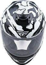 M Fly Racing Sentinel Ambush Motorcycle Helmet Camo/Black/White DOT & ECE  image 4
