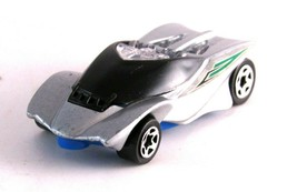 Silver Sports car Mfg For McD Corp (China) 2004 Mattel  - $3.84
