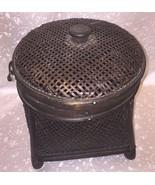 Vintage Style Jewelry Storage Box Wooden Brown Case Organizer Travel Gif... - $24.75