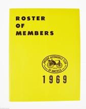 Antique Automobile Magazines 1969 Roster of Members Antique Automobiles,... - $10.00