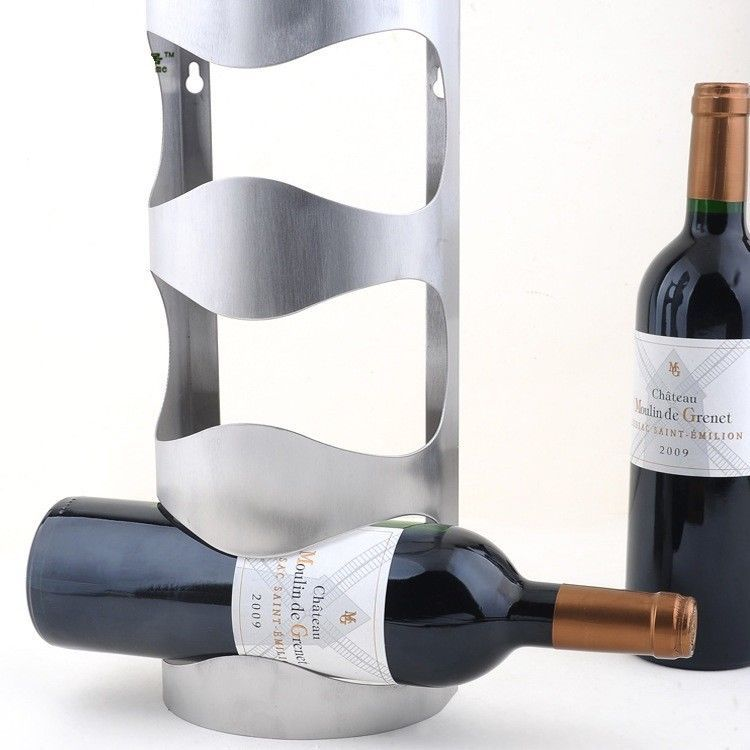 Wine Holder Wine Rack Hanging Fashion Bar Wine Shelf Creative Wine Frame Wall