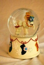 Dept 56 Snowbabies 2001 Catch Me If You Can MusicalSnow Globe Frosty The... - $27.71