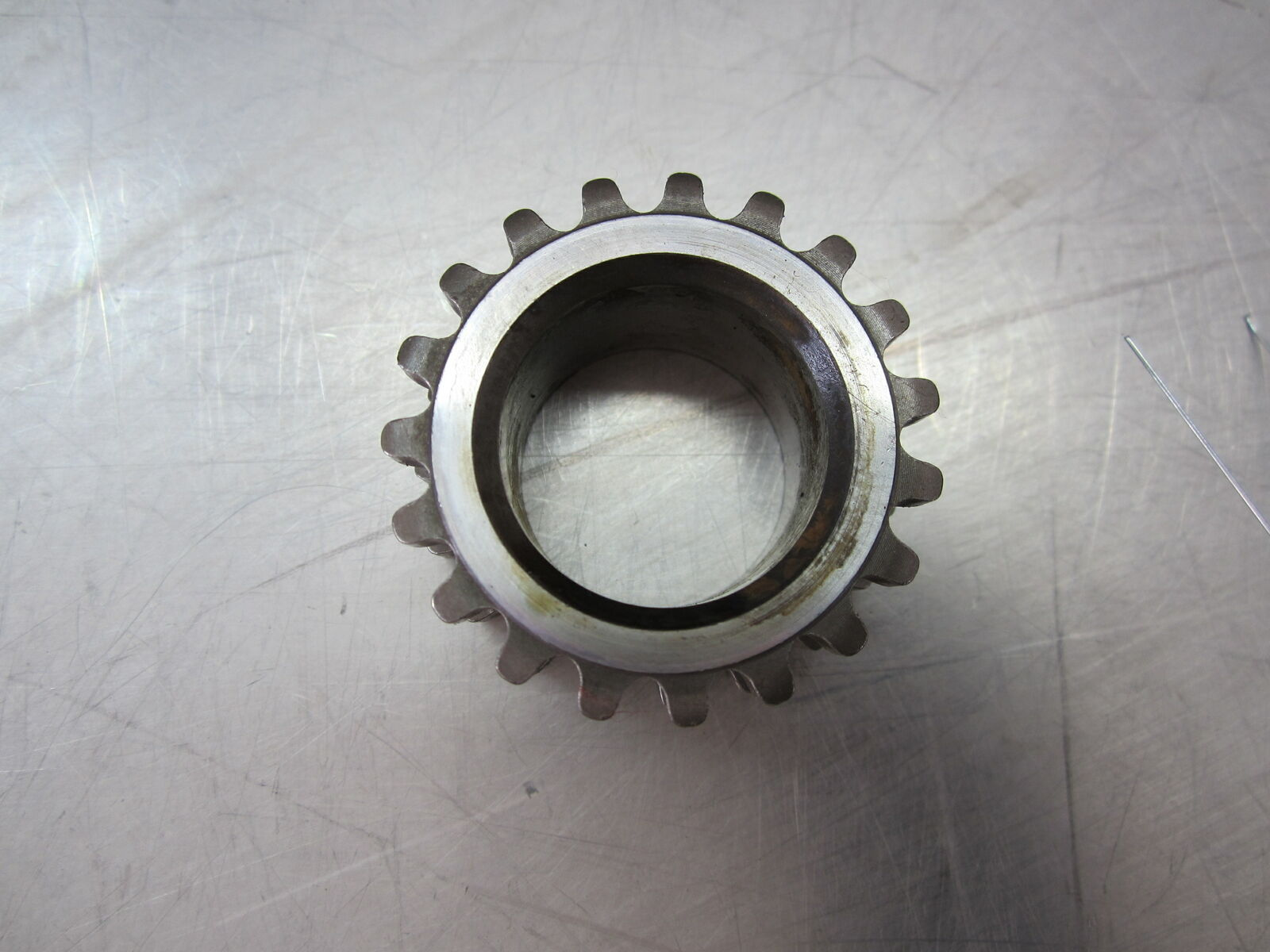 59Y111 CRANKSHAFT TIMING GEAR 2012 FORD FOCUS 2.0  image 2