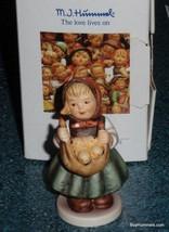 """Chicken Licken"" Goebel Hummel Figurine #385 4/0 TMK6 With Original Box ... - $46.55"