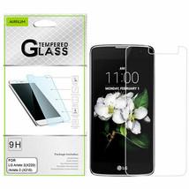 LG Aristo 2 K8 Risio 3 Plus Tribute Tempered Glass Screen Protector Film Guard - $5.87