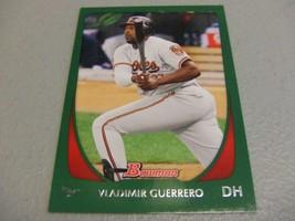 2011 Bowman Green #'d 118/450 Vladimir Guerrero -Baltimore Orioles- - $3.12
