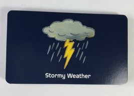 Cranium Zooreka Zoo Board Game Navy Blue Stormy Weather Game Cards Repla... - $5.34