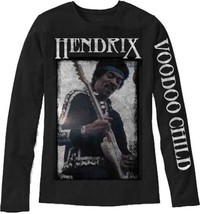 Jimi Hendrix Voodoo Child Psychedelic Rock Music Long Sleeve T Shirt 197... - $41.70+