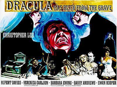 Primary image for Dracula Has Risen from the Grave - 1968 - Movie Poster #2
