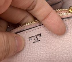 Tory Burch Robinson Color Block Top Handle Mini Bag image 7