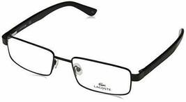 NEW LACOSTE L 2238 002 Matte Black Eyeglasses 56mm with Case - $84.10