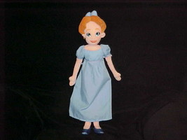 "21"" Disney Wendy Plush Doll From Peter Pan The Disney Store Rare & Very Nice - $98.99"