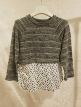 Slice Top Sweater Pullover Shirt Teen Girl Junior Clothing Size 10 Long ... - $18.53