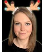 Christmas Headbands Hat Fancy Dress Hat Reindeer Antlers Clip Santa Xmas... - $5.20+
