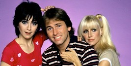 THREES COMPANY POSTER 24 X 36 INCH - $19.79