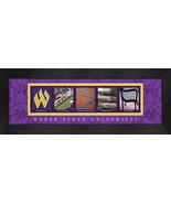 Weber State University Officially Licensed Framed Campus Letter Art - $39.95