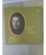 Great Men of Music Frederic Chopin [Vinyl] Frederic Chopin - $148.50