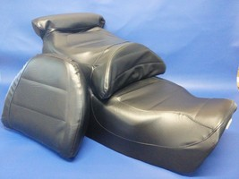 Honda GL1500SE Seat Cover Gold Wing SE Goldwing  with BACKREST  in 25 COLORS - $114.95