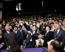 President John F. Kennedy throws out first pitch of 1961 MLB season Phot... - $8.81+