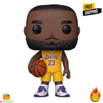 "Funko POP! NBA Lakers 10"" LeBron James Yellow Jersey Collectible Vinyl Figure - $48.99"